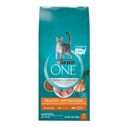 Purina ONE Weight Control Natural Dry Cat Food Healthy Metabolism - 7lb Bag