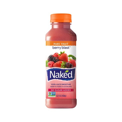 Naked All Natural Berry Blast 100% Juice Smoothie - 15.2oz - image 1 of 1