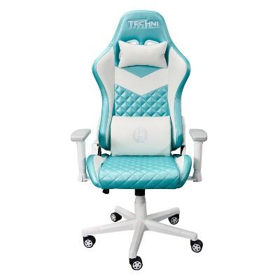 High Back Ergonomic Gaming Chair Aqua - Techni Sport