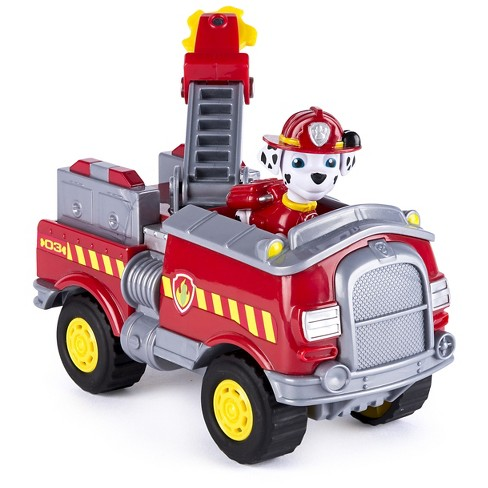 paw patrol marshall s forest fire truck vehicle figure and vehicle