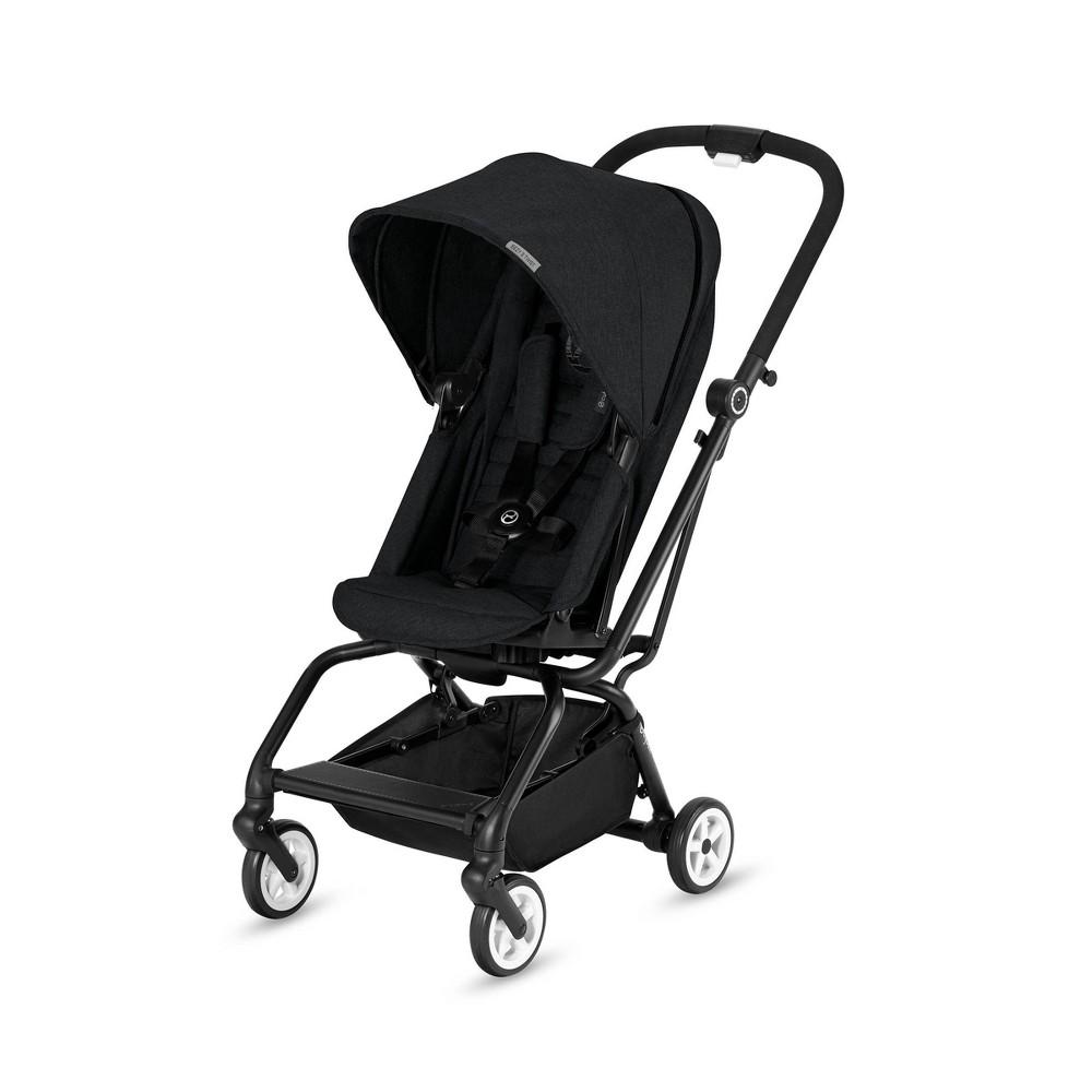 Image of Cybex Eezy Twist Stroller - Lavastone Black