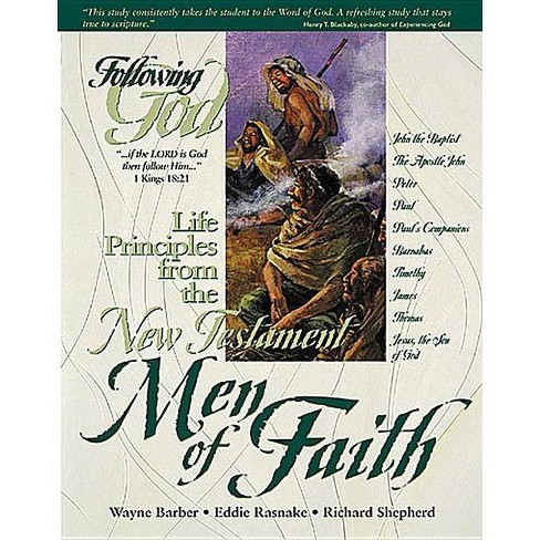Life Principles from the New Testament Men of Faith - (Following God) (Paperback) - image 1 of 1