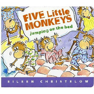 Five Little Monkeys Jumping on the Bed - by Eileen Christelow (Board_book)
