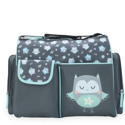 Baby Boom Duffel Diaper Bag - Owl