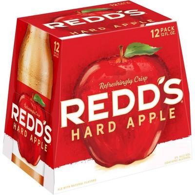 Redd's Hard Apple Ale Beer - 12pk/12 fl oz Bottles