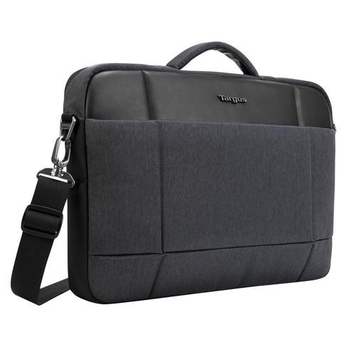 Targus 15 6 Strata Pro Slim Brief Laptop Bag Charcoal Black Tss952ust