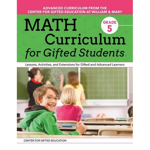 Math Curriculum for Gifted Students (Grade 5) - by  Margaret Jess Patti (Paperback) - image 1 of 1