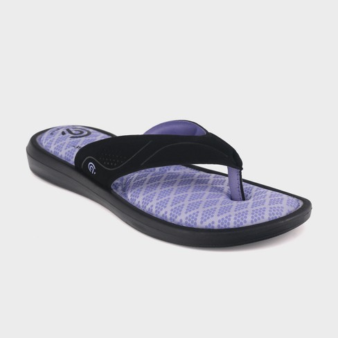 Girls  Marguerite Sport Memory Foam Flip Flop Sandals - C9 Champion ... 2366be220