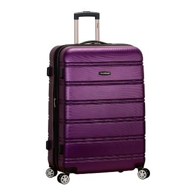 Rockland Melbourne 28  Expandable Hardside Spinner Suitcase - Purple
