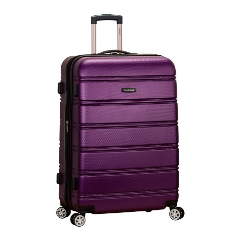 "Rockland Melbourne 28"" Expandable Hardside Spinner Suitcase - Purple - image 1 of 5"