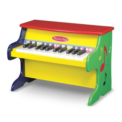Melissa & Doug Learn-To-Play Piano With 25 Keys and Color-Coded Songbook - image 1 of 4