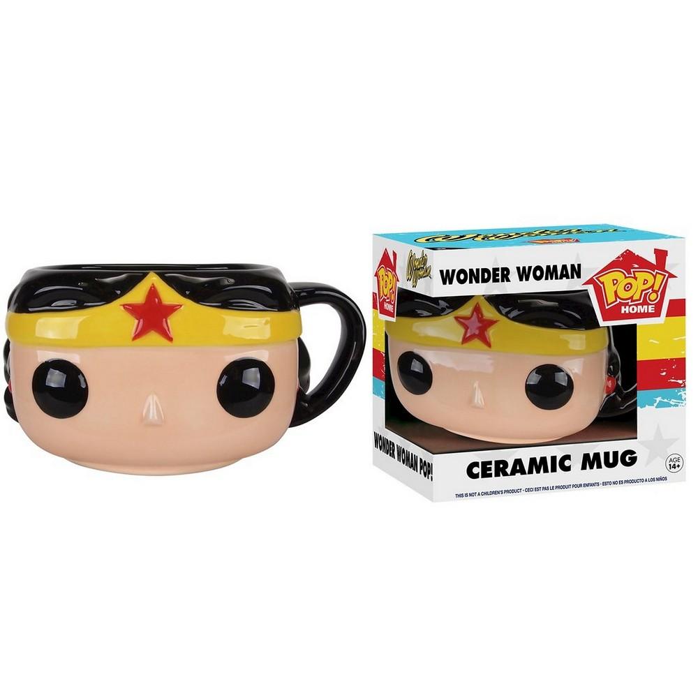 Funko Pop DC Wonder Woman Mug, Multi-Colored