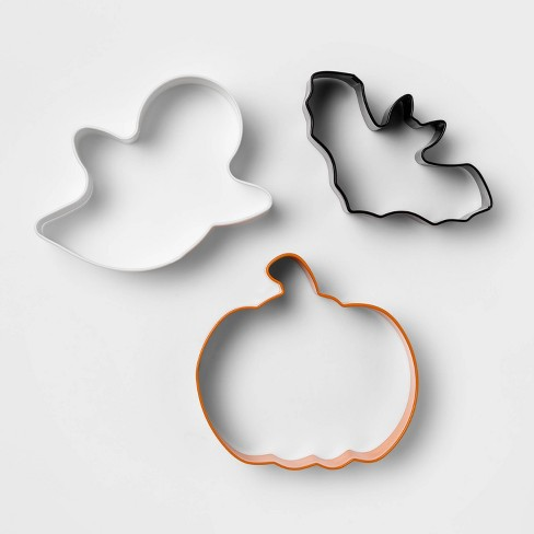 3pc Stainless Steel Cookie Cutter Set - Hyde & EEK! Boutique™ - image 1 of 4