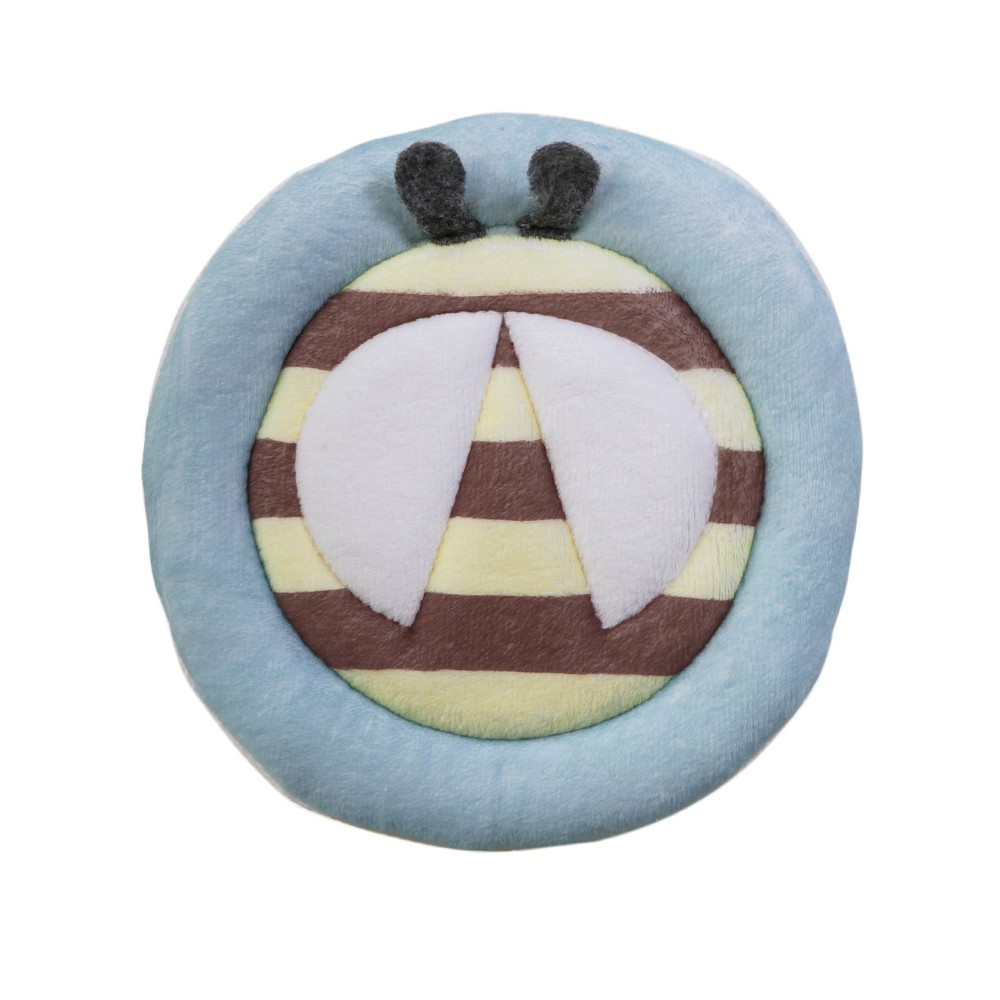 Image of Blooming Baby Bee Bath Scrubbie - Yellow