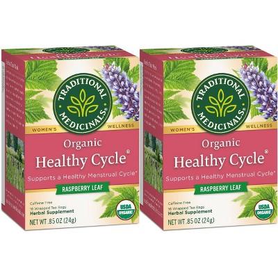 Tea Bags: Traditional Medicinals Healthy Cycle Tea Bags