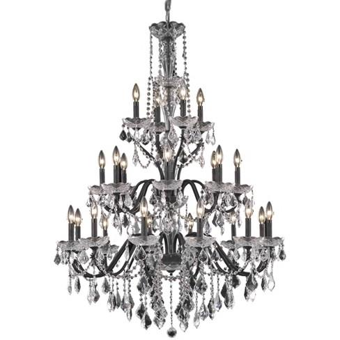 """Elegant Lighting V2015G36DB St. Francis 36"""" 24 Light Chandelier - image 1 of 1"""