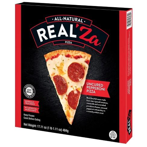 Real'Za Pepperoni Frozen Thin Crust Pizza - 19oz - image 1 of 1