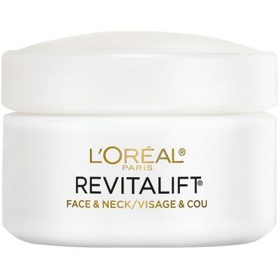 L'Oreal Paris Revitalift Anti-Wrinkle + Firming Face/Neck Contour Cream 1.7oz