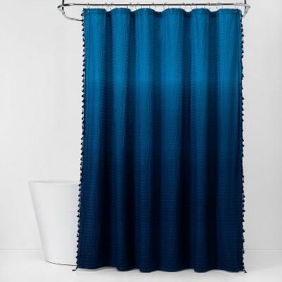 Ombre Shower Curtain Blue - Pillowfort™