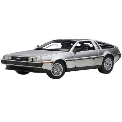 DeLorean DMC 12 Satin Silver 1/18 Model Car by Autoart