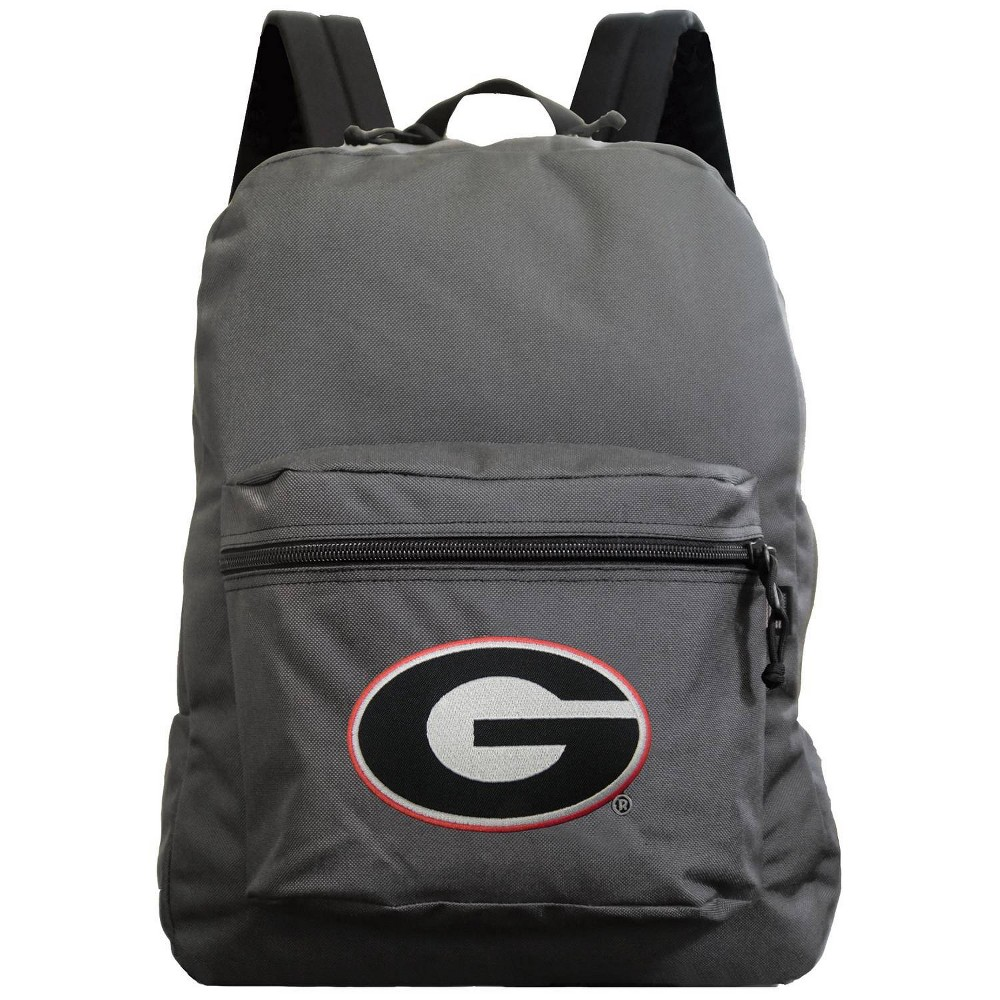 Ncaa Georgia Bulldogs Gray Premium Backpack