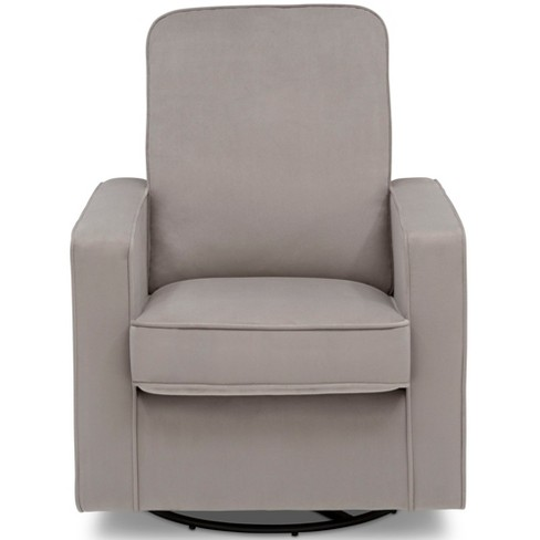Delta Children Landry Nursery Glider Swivel Rocker Chair - Cloudy Gray - image 1 of 7