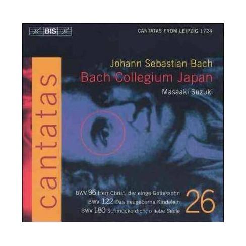 Masaaki Suzuki - Bach: Cantatas Volume 26 (CD) - image 1 of 1