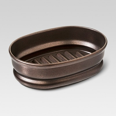 Traditional Brushed Soap Dish Bronze - Threshold™