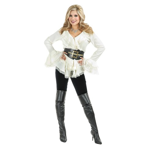 Women's South Seas Blouse Costume - image 1 of 1