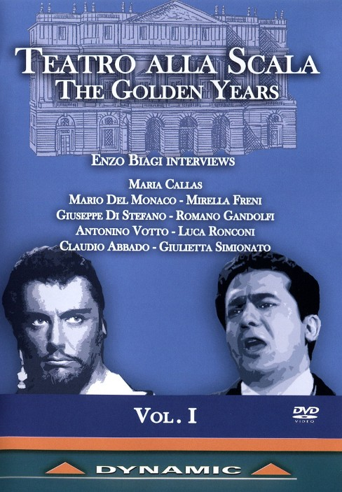 Teatro alla scala:Golden years vol 1 (DVD) - image 1 of 1