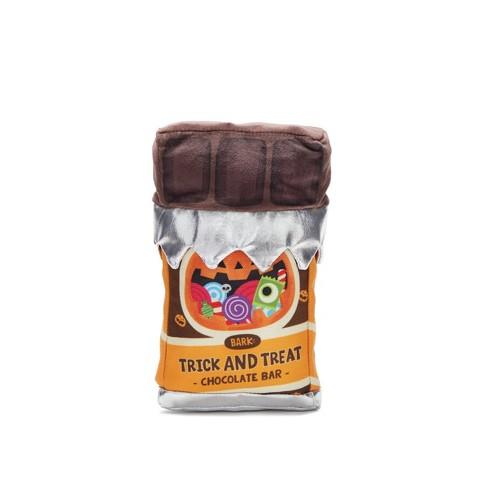 BARK Chocolate Bar Dog Toy - Trick & Treat Chocolate Bar - image 1 of 6