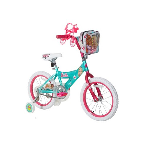 "Barbie 16"" Bike with Ride With Me Minibike - Teal - image 1 of 4"