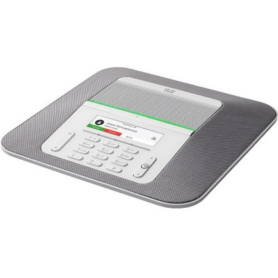 Cisco 8832 IP Conference Station - Tabletop - Charcoal - VoIP - Caller ID - SpeakerphoneNetwork (RJ-45) - USB - PoE Ports - Color
