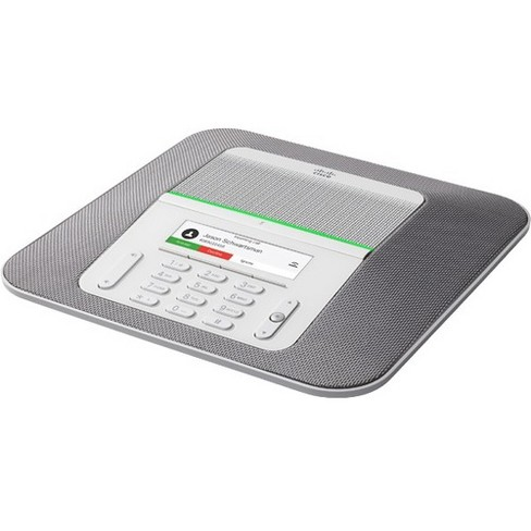 Cisco 8832 IP Conference Station - Tabletop - Charcoal - VoIP - Caller ID - SpeakerphoneNetwork (RJ-45) - USB - PoE Ports - Color - image 1 of 1