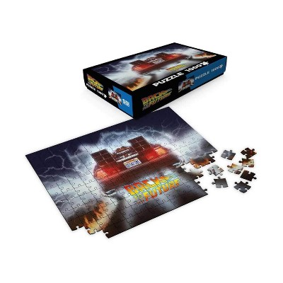 SD Toys Back To The Future Delorean Out A Time 1000 Piece Jigsaw Puzzle