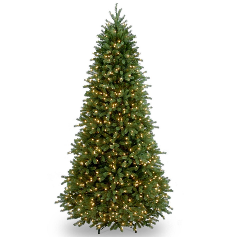 6.5ft National Christmas Tree Company Jersey Frasier Fir Artificial Christmas Tree 700ct Clear
