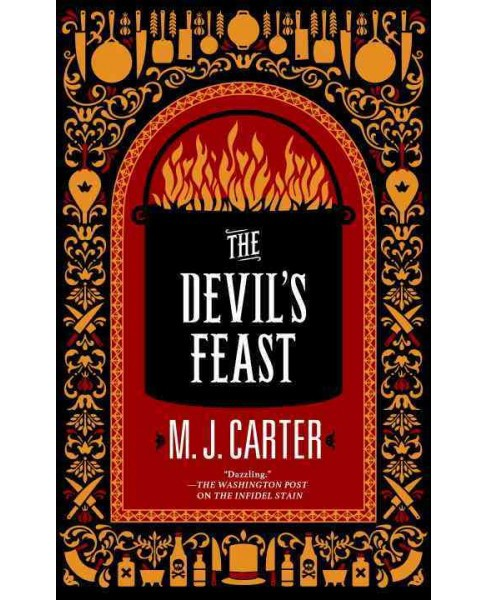 Devil's Feast -  (Blake and Avery) by M. J. Carter (Hardcover) - image 1 of 1