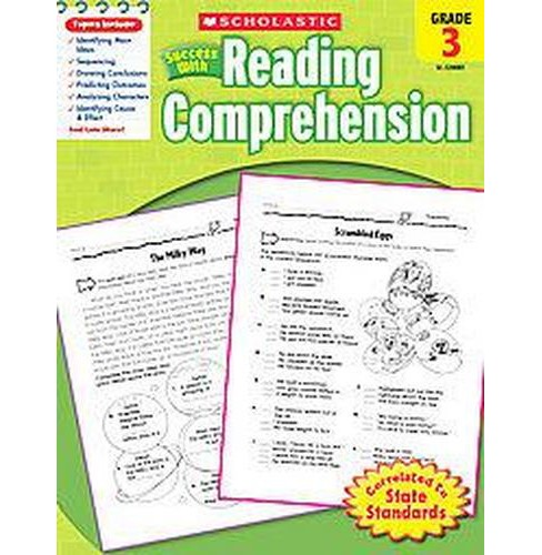 Scholastic Success With Reading Comprehension, Grade 3 (Paperback) - image 1 of 1