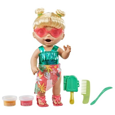 Baby Alive Sunshine Snacks - Blonde Hair