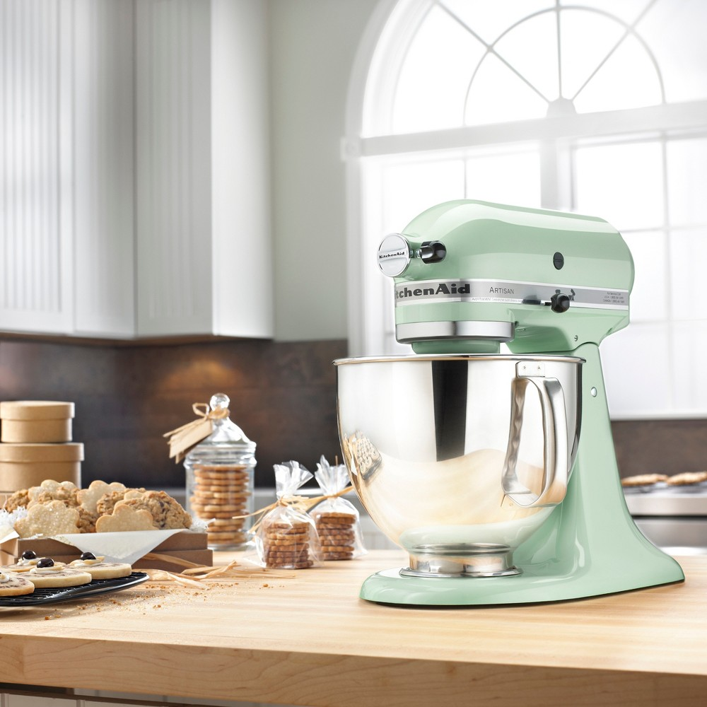 KitchenAid Refurbished Artisan Series Stand Mixer – Pistachio (Green) RRK150PT 53499017