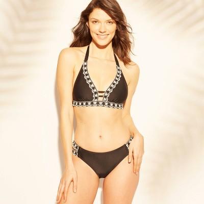 1a71548d95 Women s Crochet Trim Bikini Top - Kona Sol™ Black