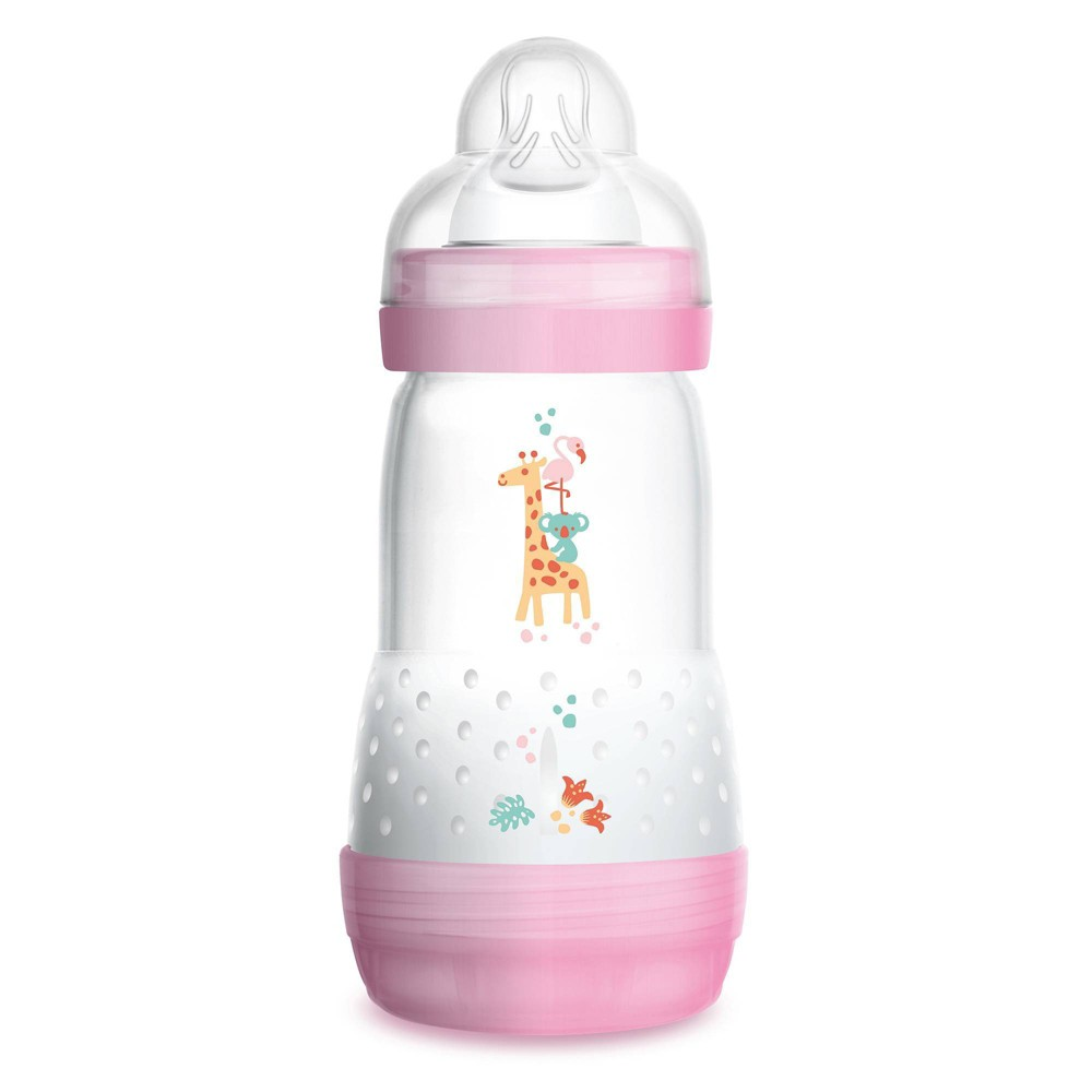 Mam Anti Colic Bottle 9oz Pink