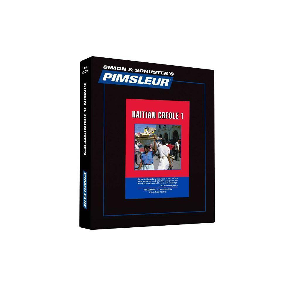 Pimsleur Haitian Creole Level 1 CD - (Comprehensive) (AudioCD)