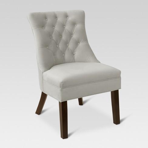 Winslow Velvet Accent Chair - Threshold™ - image 1 of 5