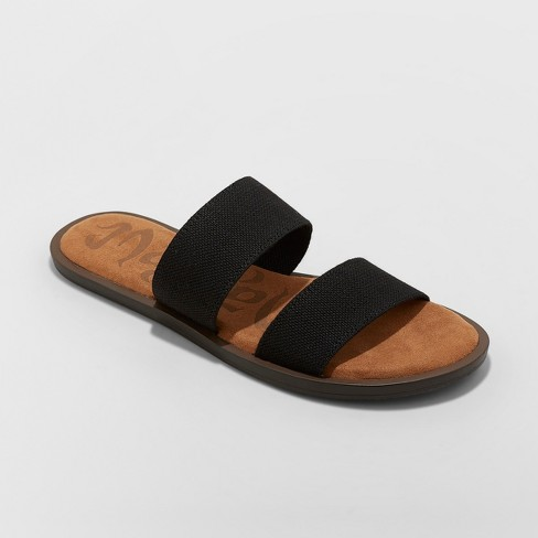 Women's Mad Love Tahlia Elastic Two Band Slide Sandals - image 1 of 3
