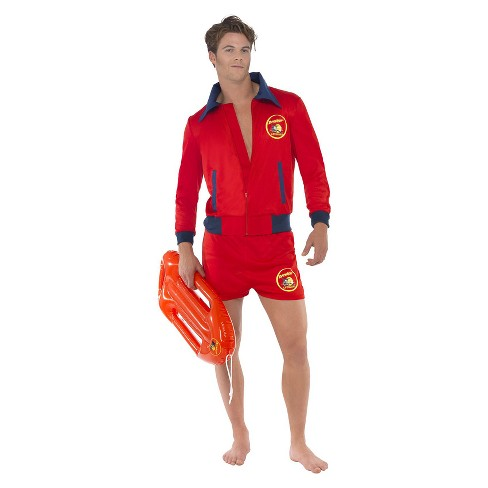 e01636a39c1f Men s Smiffy s Baywatch Lifeguard Costume M   Target