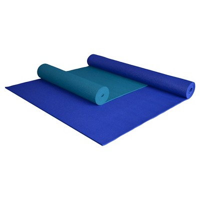 Yoga Direct Extra Long / Extra Wide Deluxe Yoga Mat - Blue