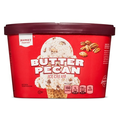 Butter Pecan Ice Cream - 1.5qt - Market Pantry™ - image 1 of 1