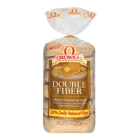 Oroweat Double Fiber Sliced English Muffins 6-pk. - image 1 of 1