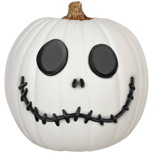 Disney Nightmare Before Christmas Jack Skellington 6pc Halloween Pumpkin Push-In Decorating Kit - image 1 of 2